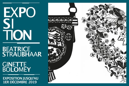 Exposition Beatrice Straubhaar & Ginette Bolomey